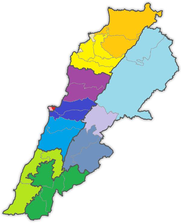 Lebanon's Electoral Map