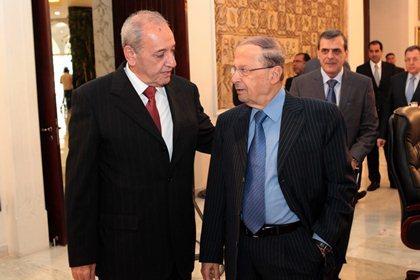 Berri and Aoun