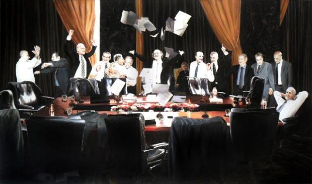 Halleluja painting by Mhamad Saad