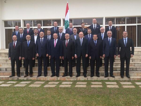Lebanese Cabinet Of 2013