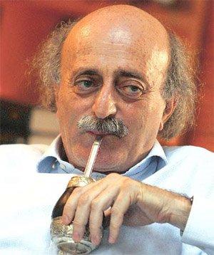 Walid Jumblatt Drinking Matte