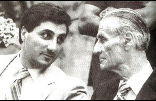 Bachir and Pierre Gemayel