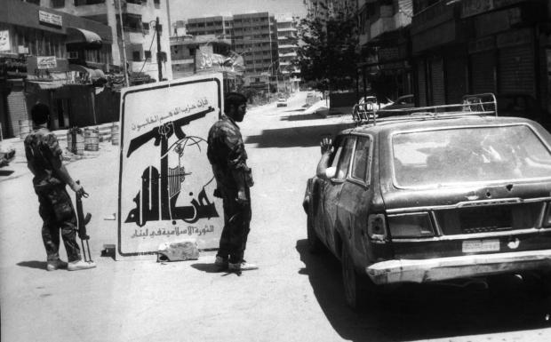 Image taken after the 1988 clashes between Hezbollah and Amal (source)