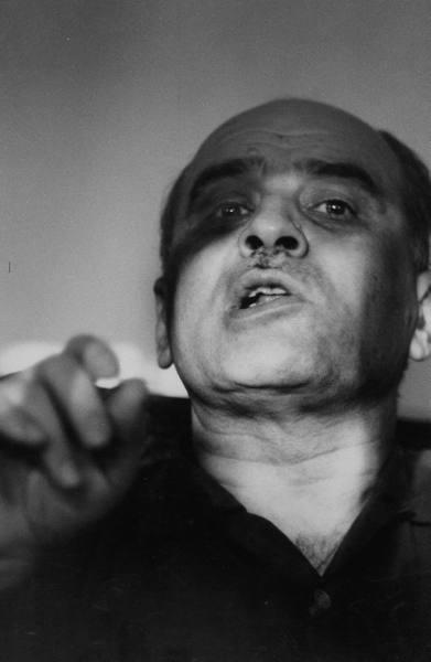 Lebanese rebel leader, Saeb Salem. Paul Schutzer July 1958
