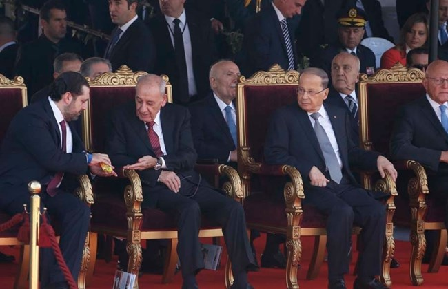 hariri-berri-and-aoun-sharing-candy-while-watching-the-independence-day-parade-2016