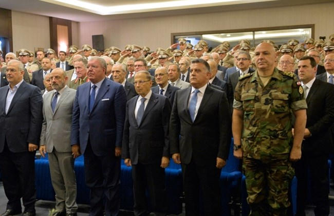 Senior state officials commemorate GS anniversary in Beirut, August 26